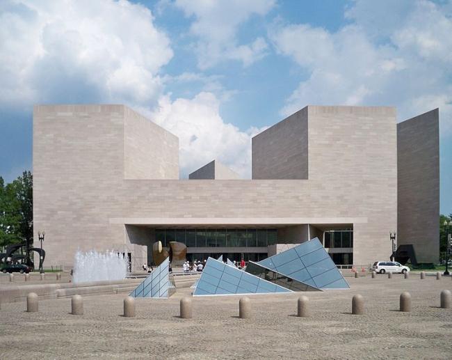 Национальная галерея искусств в Вашингтоне. Восточное крыло. Фото: MBisanz via Wikimedia Commons. Лицензия CC BY-SA 3.0