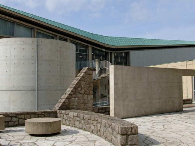 Павильон для медитации в комплексе ЮНЕСКО (c) UNESCO / Patrick Lagès