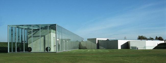 Фонд Ланген в комплексе Музейного острова Хомбройх. Фото: Hans Peter Schaefer  via Wikimedia Commons. Лицензия CC-BY-SA-3.0