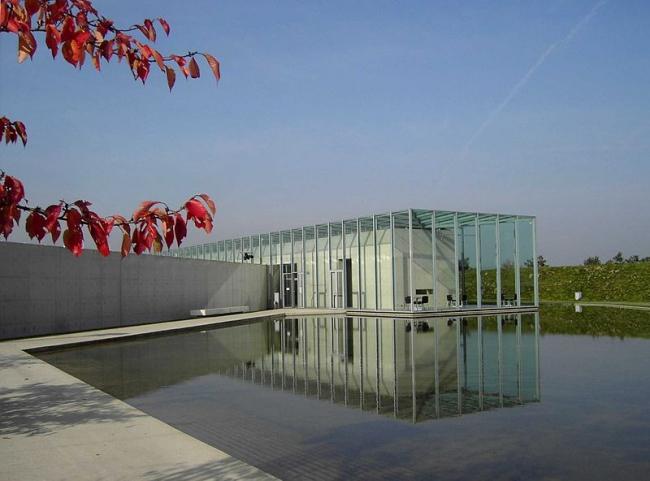 Фонд Ланген в комплексе Музейного острова Хомбройх. Фото:Perlblau via Wikimedia Commons. Лицензия GNU Free Documentation License, Version 1.2