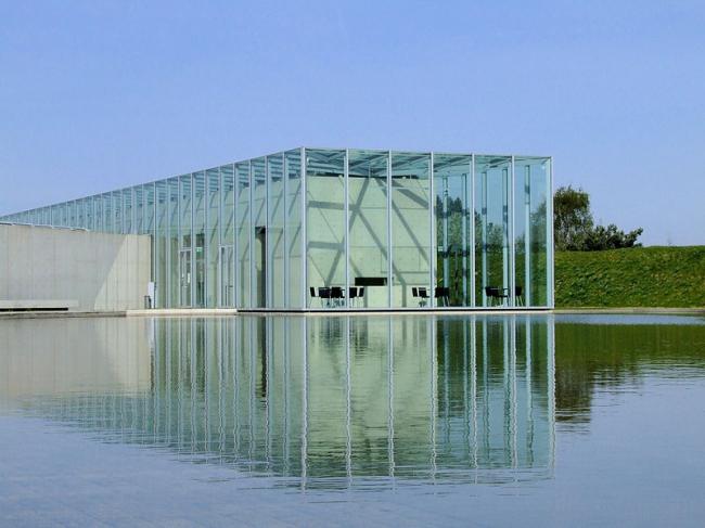 Фонд Ланген в комплексе Музейного острова Хомбройх. Фото: Andreas Lischka via Wikimedia Commons. Лицензия CC-BY-SA-2.0