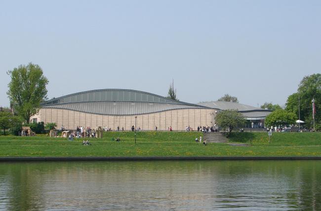 Центр японского искусства и техники «Мангха». Фото: Luke_33 via Wikimedia Commons. Лицензия CC-BY-2.5-PL