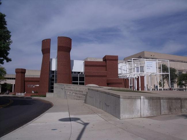 Центр визуальных искусств  и библиотека Векснера. Ibagli via Wikimedia Commons. Фото находится в общественном доступе