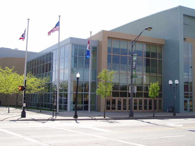 Конференц-центр Большого Колумбуса. Фото: Grzegorczyk1 via Wikimedia Commons. Лицензия CC-BY-3.0