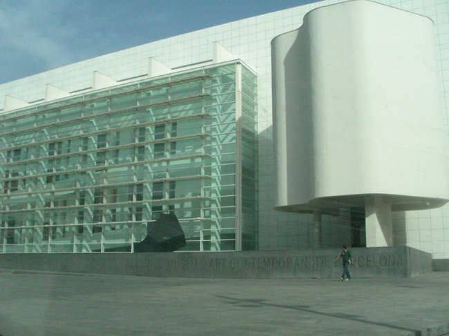 Музей современного искусства MACBA. Фото: Oscar via Wikimedia Commons. Лицензия GNU Free Documentation License, Version 1.2