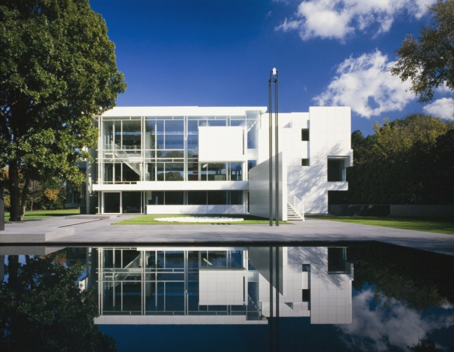 Дом Рачовски ©  Richard Meier & Partners Architects