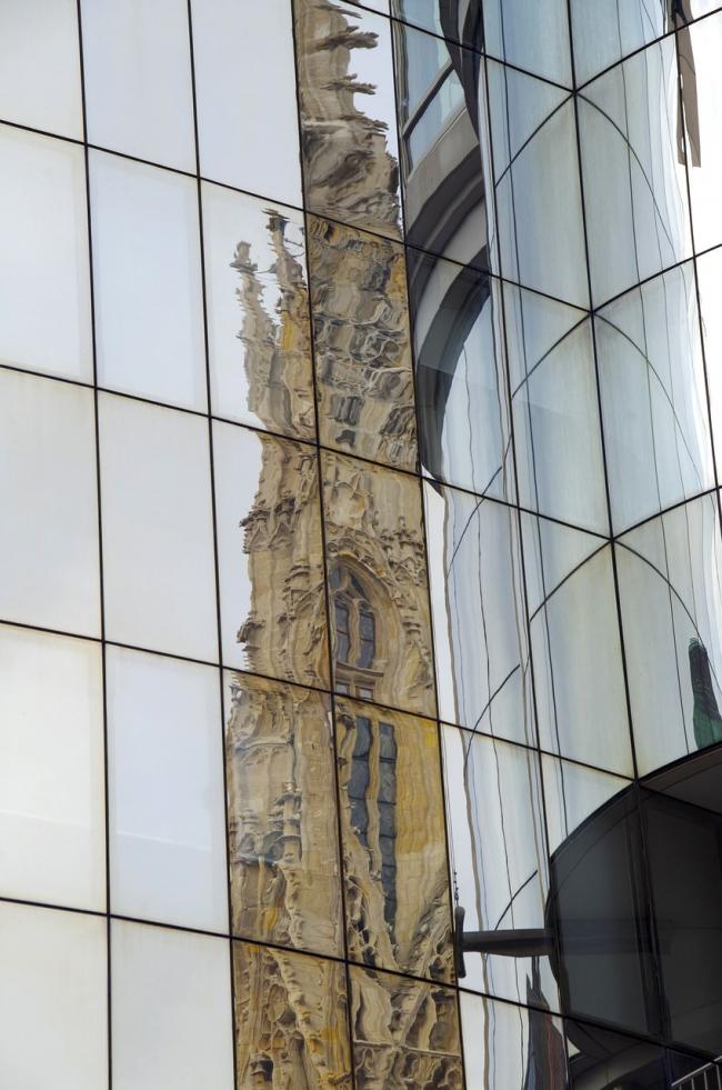 Торговый центр Haas House. DanielWanke via pixabay.com. Фото находится в открытом доступе