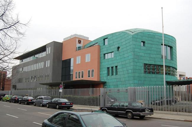 Посольство Австрии. Фото: Achim Raschka via Wikimedia Commons. Лицензия CC-BY-SA-3.0