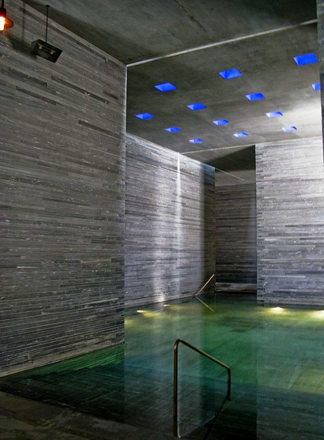 Петер Цумтор. Термальные бани в Валсе