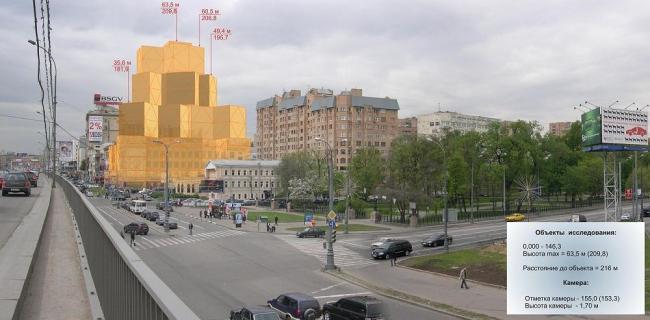 Отель на Самотечной площади. FRANK GEHRY LLP - концепция, ADM - сопровождение