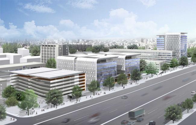 Офисный центр на 1-м Волоколамском проезде. SHCA - Concept, Schematic, DD. ADM - Стадия Проект