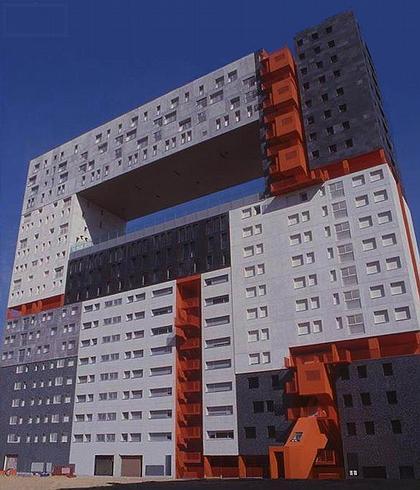 MRVDV. Жилой комплекс «Мирадор», Мадрид