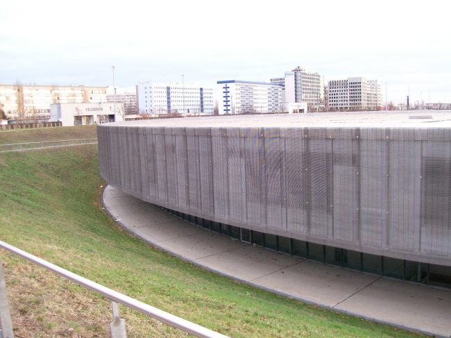 Олимпийский велодром и бассейн. Фото: oliberlin via Wikimedia Commons. Лицензия CC BY-SA 2.0