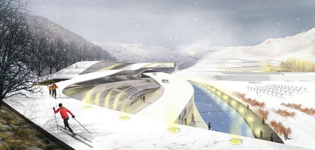 Парк Тэквондо © Weiss/Manfredi Architecture / Samoo