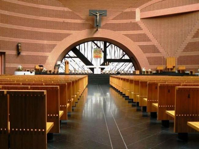 Собор в Эври © Mario Botta Architetti
