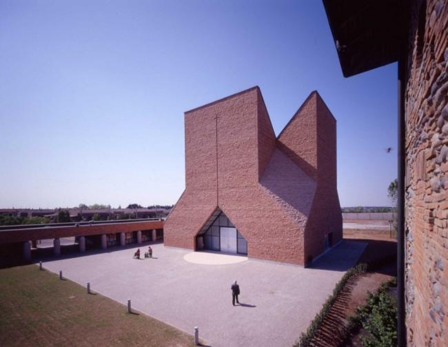 Церковь Блаженного Иоанна XXIII © Mario Botta Architetti