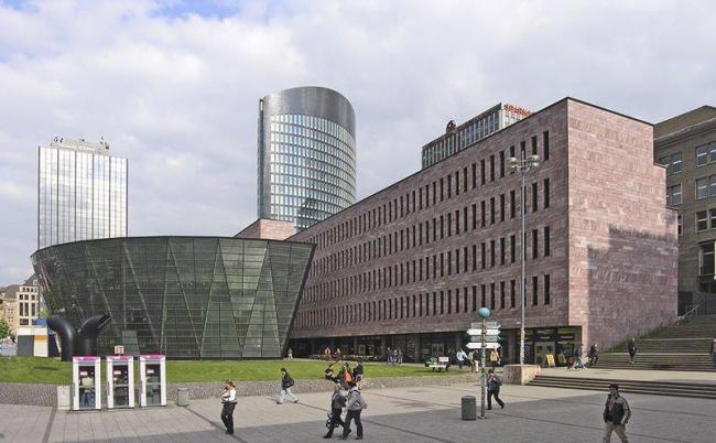 Городская библиотека Дортмунда. Фото: Hps-poll via Wikimedia Commons. Лицензия GNU Free Documentation License, Version 1.2
