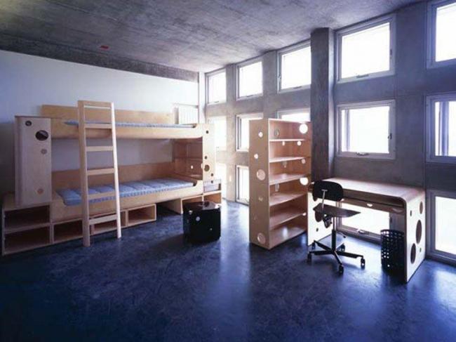 Общежитие студентов Массачусеттского технологического института Симмонс Холл © Steven Holl Architects
