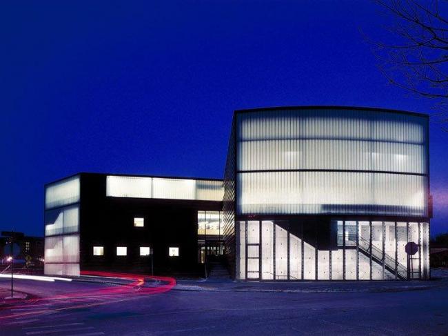 Колледж архитектуры и ландшафтного дизайна Университета Миннесоты © Steven Holl Architects