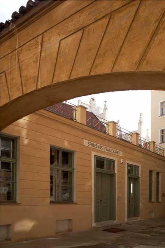 Общественный центр Франца Кафки © Steven Holl Architects