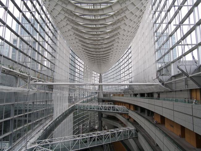 Токийский международный форум. Фото: Japiot via Wikimedia Commons. Лицензия CC-BY-SA-3.0