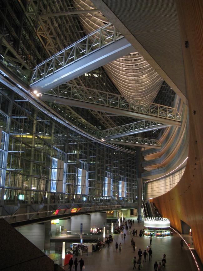 Токийский международный форум. Фото: Hide1228 via Wikimedia Commons. Лицензия GNU Free Documentation License, Version 1.2