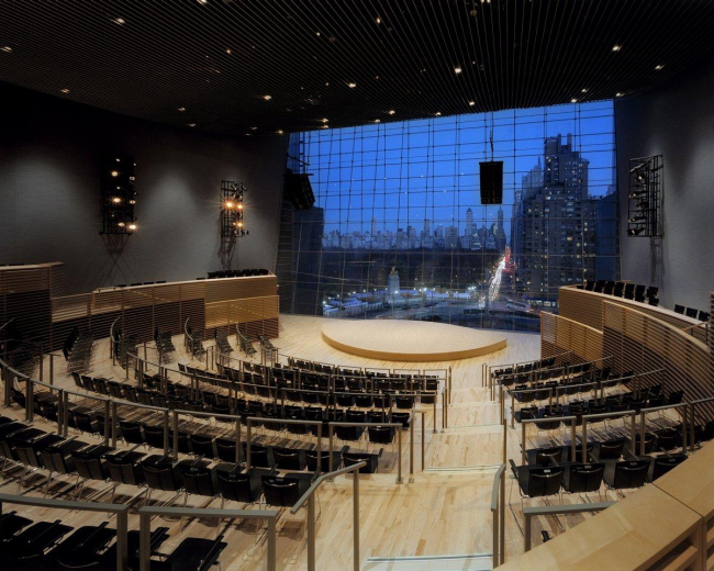 Зал Jazz at Lincoln Center © Viñoly