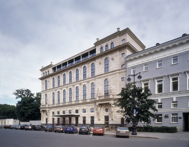 Гостиница на площади Островского, 2008 © «Евгений Герасимов и партнеры»