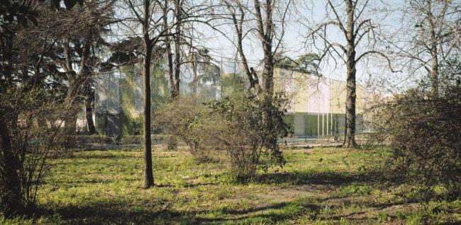 Спортивный зал в парке Ретиро Ábalos & Herreros