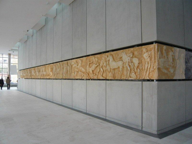Музей Акрополя. «Галерея Парфенона»