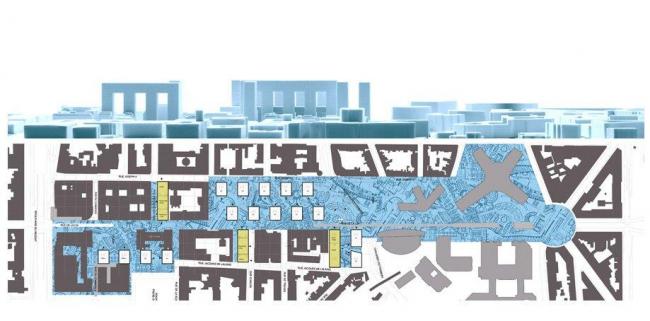 Европейский квартал - улица де ла Луа - конкурсный проект