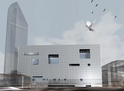Проект многофункционального комплекса с апартаментами и подземной автостоянкой (на месте «Президент-сервиса», комплекс «Миракс-плаза»)