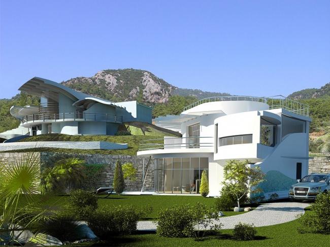 Гостевой домик в Турции. Проект 2009 г.