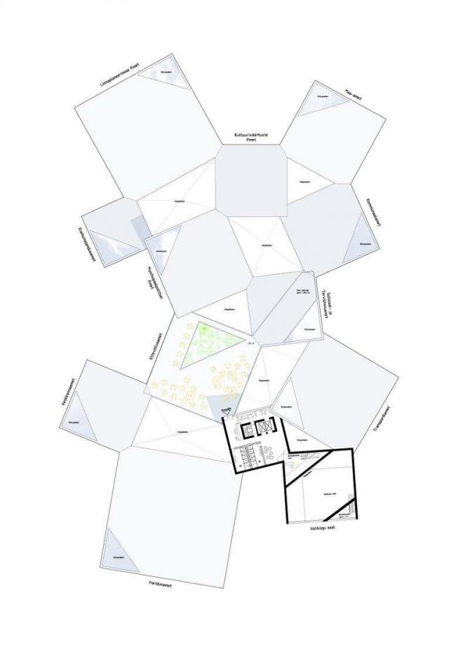 Таллинская ратуша. План 5-го этажа