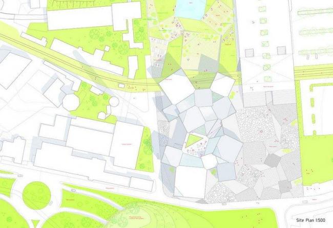 Таллинская ратуша. Ситуационный план