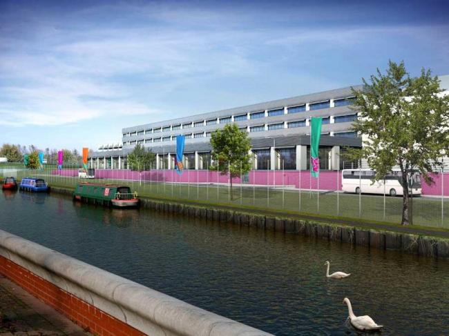 Медиа-центр Олимпиады-2012. Первый вариант проекта