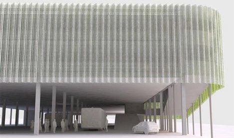 Олимпийский медиа-центр - Международный телерадиоцентр. Вариант RPS Group