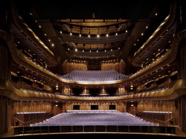 Уэксфордский оперный театр © Ros Kavanagh