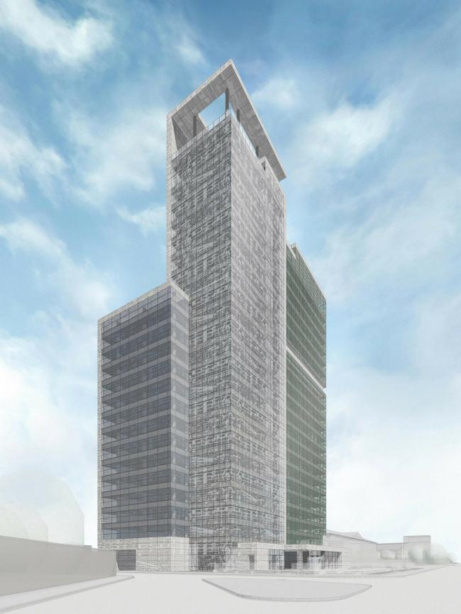 Комплекс офисных зданий на улице Северная, г. Краснодар. Чайковский-плаза