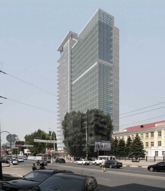 Group of office buildings on Severnaya street, Krasnodar city
