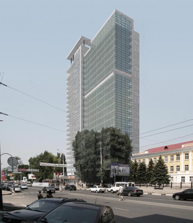 Комплекс офисных зданий на улице Северная, г. Краснодар.Чайковски-плаза