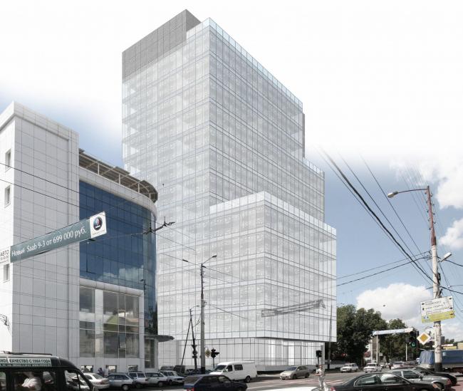 Комплекс офисных зданий на улице Северная, г. Краснодар. Рахманинов-плаза
