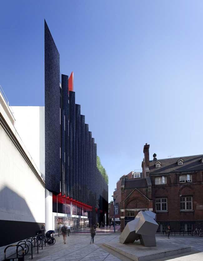 Студенческий центр LSE. Проект финалиста b