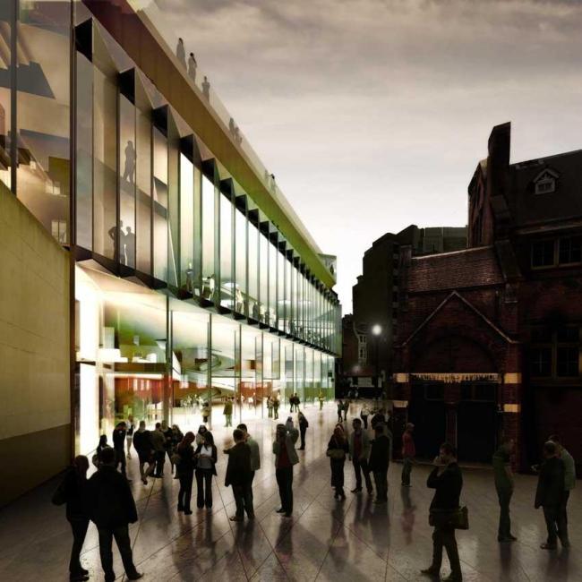 Студенческий центр LSE. Проект финалиста 3XN