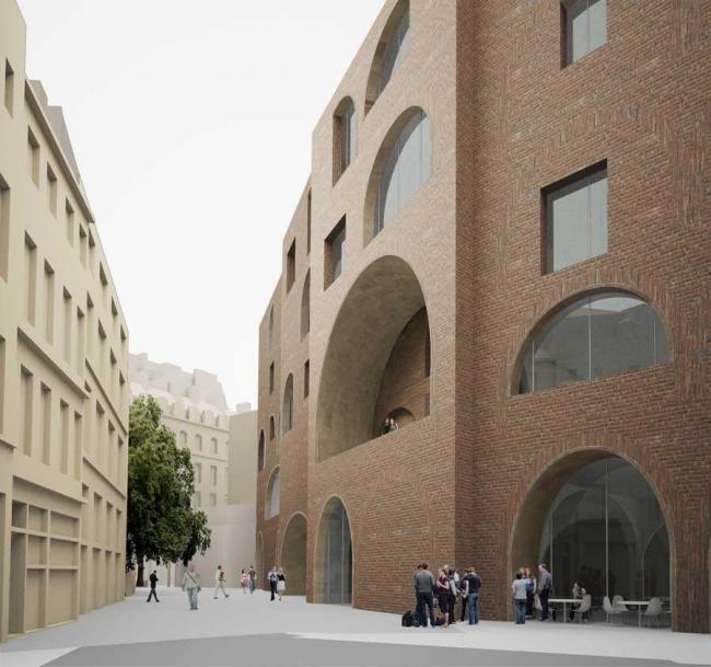 Студенческий центр LSE. Проект финалиста Дэвида Чипперфильда
