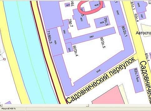 Квартал на Садовнической набережной. Снесен.