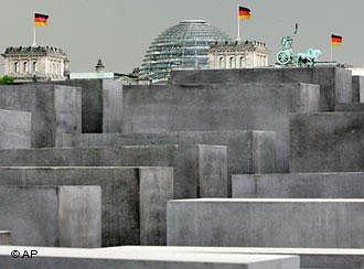 Мемориал убитым евреям Европы. Фото AP
