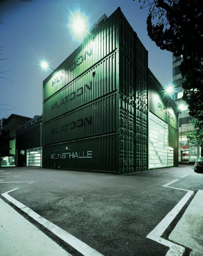 Центр Platoon Kunsthalle. Задний фасад © GRAFT
