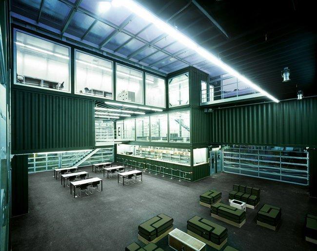 Центр Platoon Kunsthalle. Главный зал © GRAFT