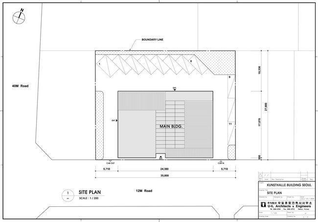 Центр Platoon Kunsthalle. Ситуационный план © GRAFT